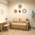 For rent 1 bed The Base Garden Rama9