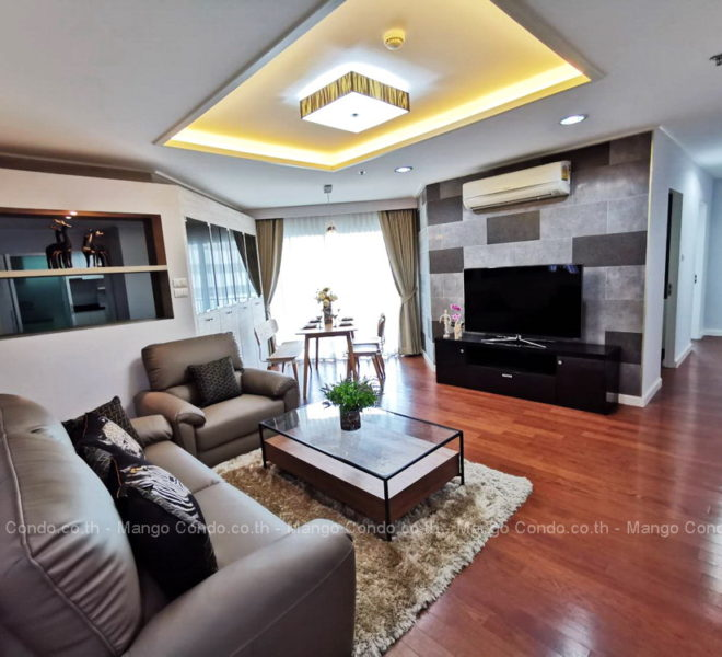 Belle Grand Rama9 3 Bedroom For rent